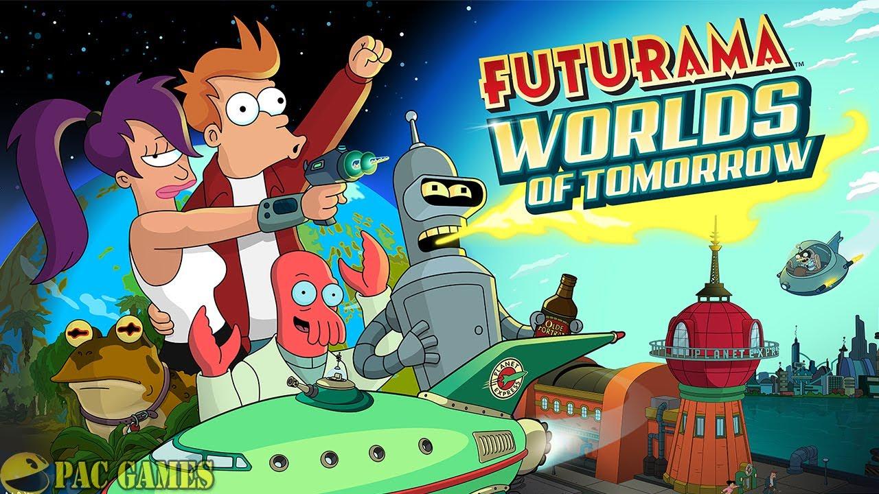Futurama  Worlds Of Tomorrow - New Characters Unlocked