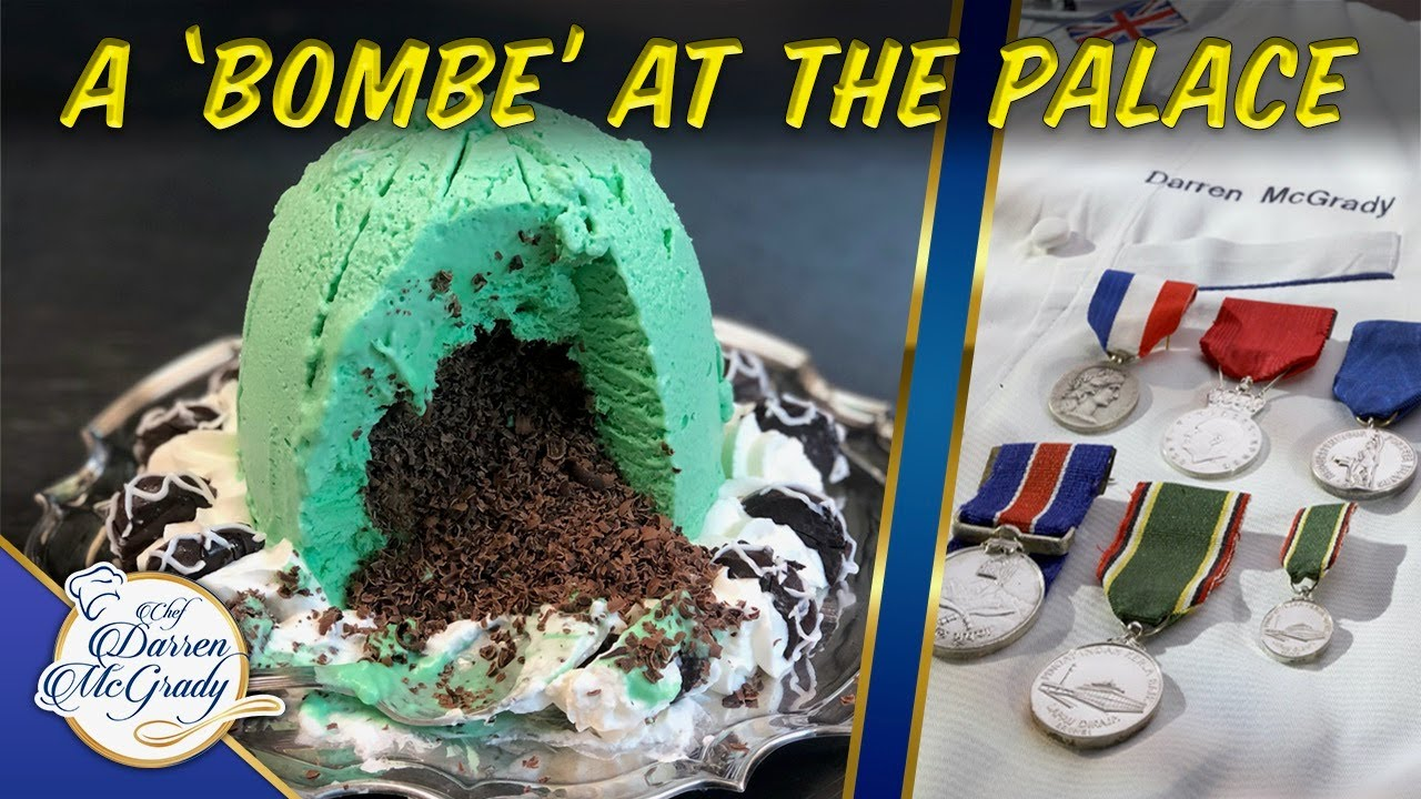 Bombe Glacée Royale -Delicious Chocolate Mint Ice Cream You Don't Need An Ice Cream Machine To Make!