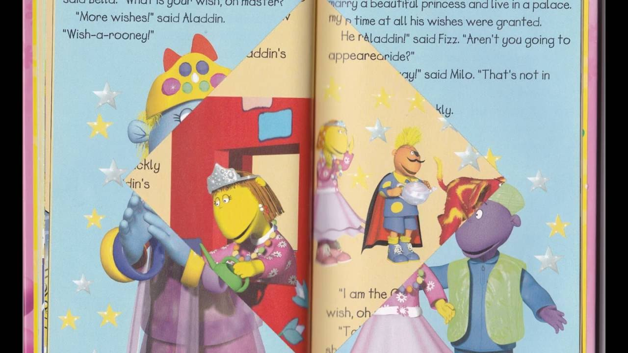 Tweenies - The Magic Lamp (Book) - YouTube for Aladdin And The Magic Lamp Book  55nar