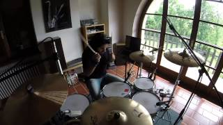 Silverstein - A Better Place   Dario Leoni Drum Cover [100% GoPro]