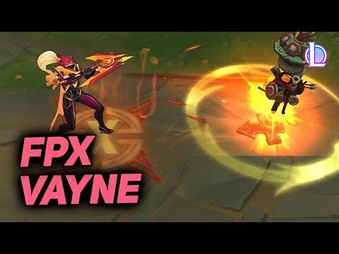FPX Vayne Kostüm Tanıtımı - League of Legends