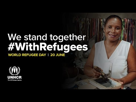 #WithRefugees | Carmen hopes to inspire other women through her work