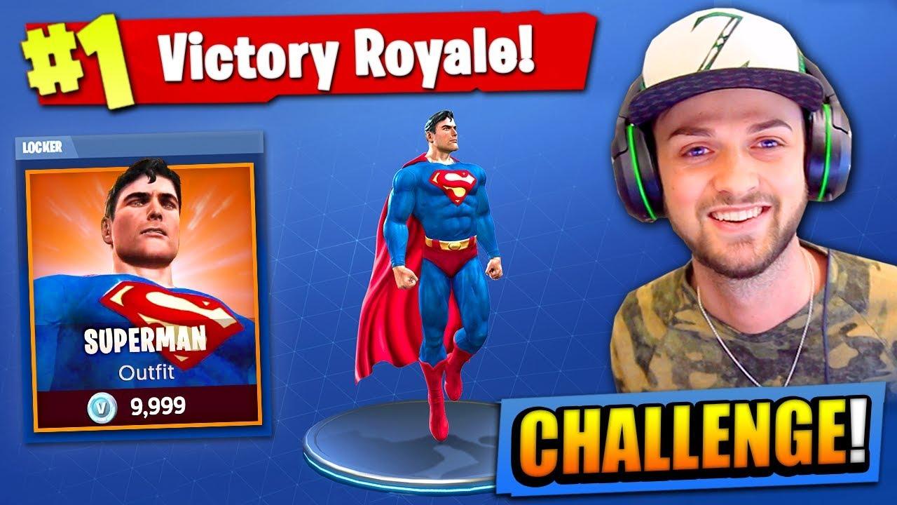 the superman challenge in fortnite battle royale ali a - ali a challenges fortnite