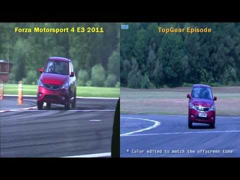 Forza Motorsport 4 vs TopGear – KIA Cee'd