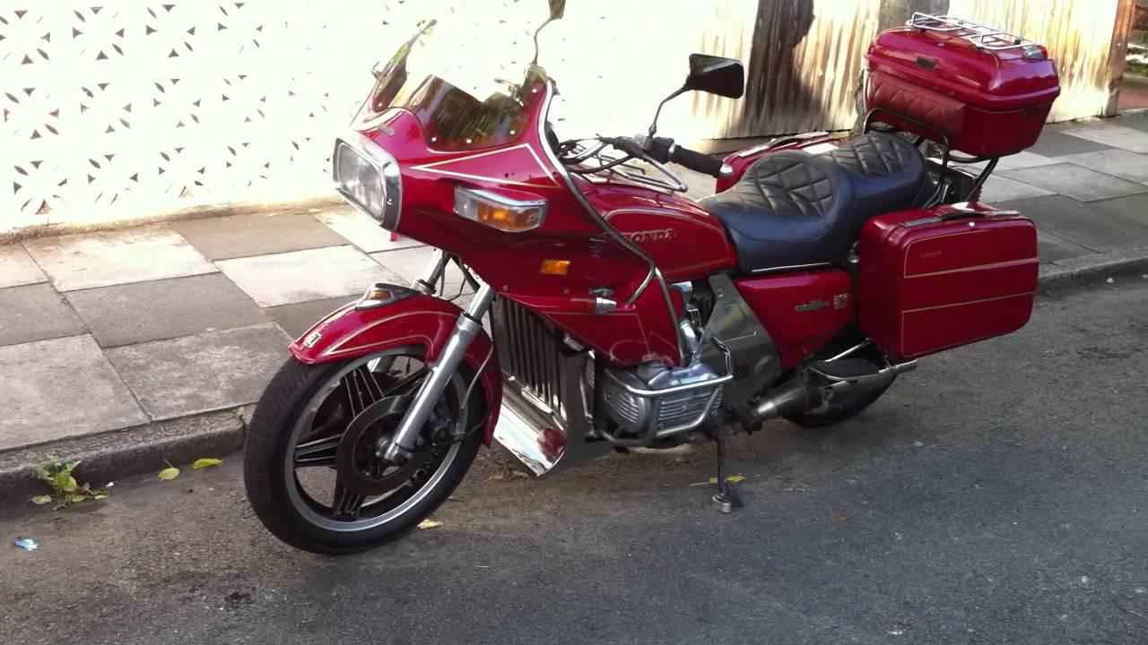 Honda Gl1100 Goldwing Interstate 1980 Youtube