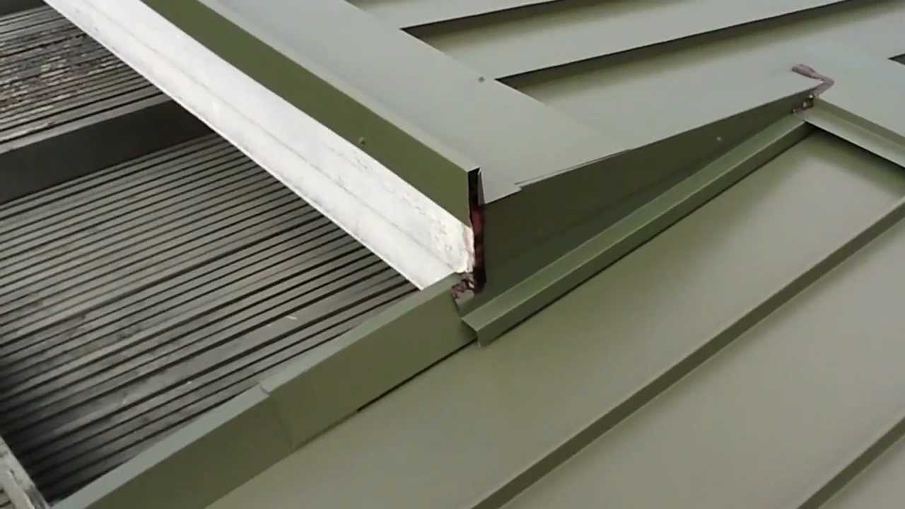 Installation Of Standing Seam Metal Roofing System Youtube