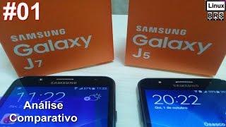 Samsung Galaxy J7 e Samsung Galaxy J5 - Análise e especificações