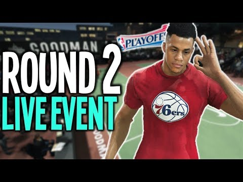 ROUND 2 PLAYOFF LIVE EVENTS - NBA Live 18 My Career (Nba Live 18 The One) - 동영상