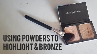 Lazy Girl Highlight and Contour