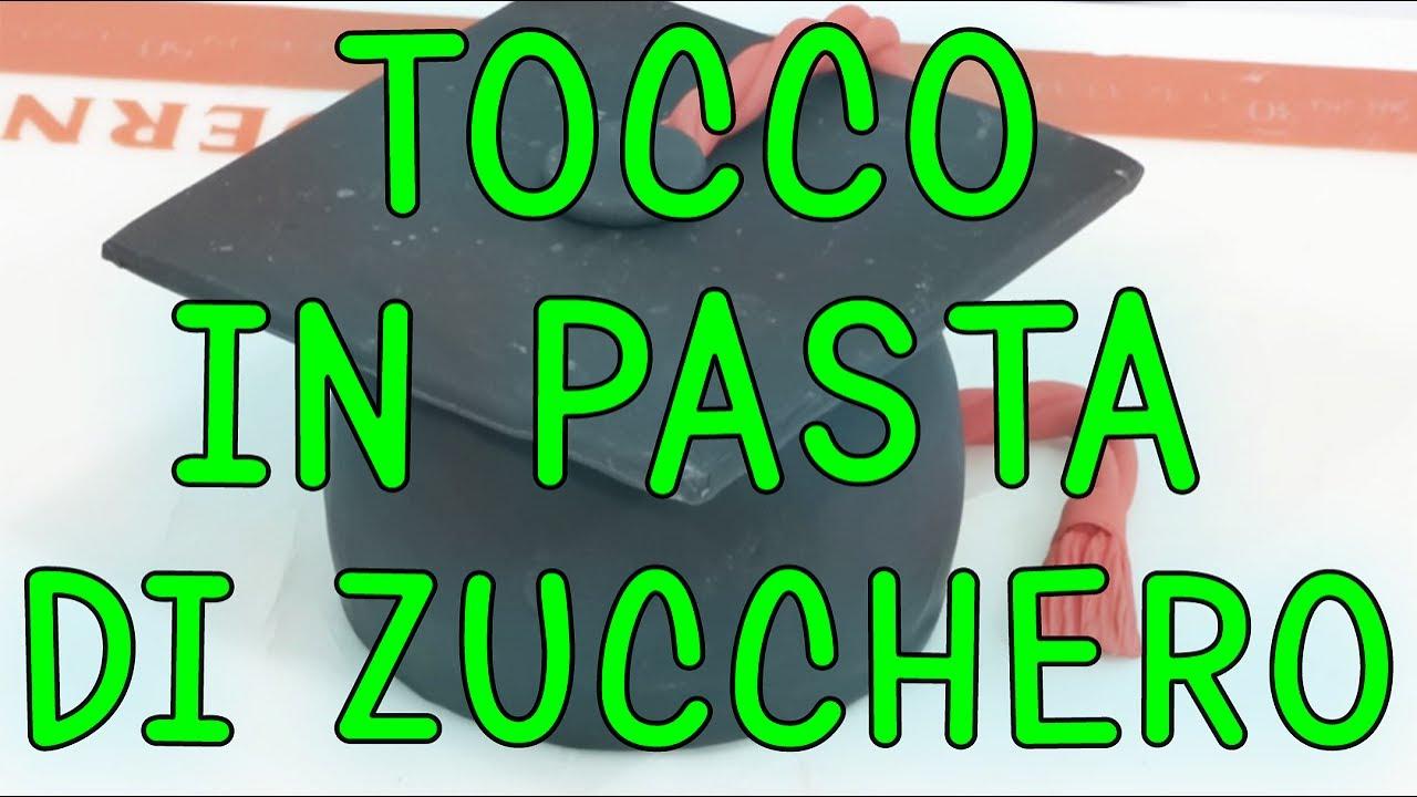 Favoloso Tocco di Laurea in Pasta di Zucchero - YouTube WD23