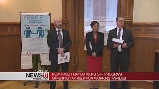New Haven offers tax help for working families