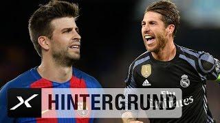 Schlüsselduell im Clasico: Gerard Pique vs. Sergio Ramos | Real Madrid - FC Barcelona