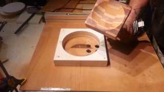 "Turning ""segmented Bowl""  On A Table Saw! Part 2"