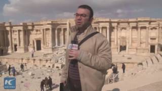 Shocking destruction: Roman theater destroyed by ISIS in Syria's Palmyra
