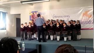 Colegio San Pedro  Primer lugar, concurso de himno nacional