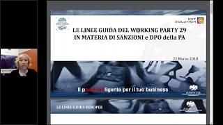 Linee Guida dall'Europa in merito a Sanzioni e DPO per la PA thumbnail