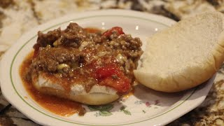 Sloppy Joes /beef/ Cheesy Sloppy Joes  Recipe/ Cheryls Home Cooking