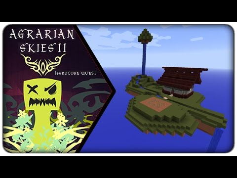 """[Let's Play] Agrarian Skies 2 :: E17 - Bloodmagic Catch 22 """"What a day"""""""