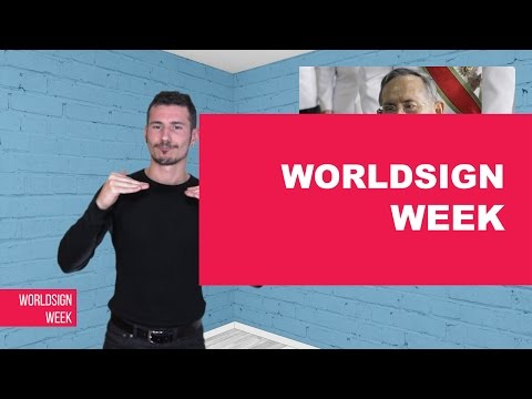 WORLDSIGN | Iraq Fight for Mosul, Wikileaks Update, Deaf Cartoon Startup and more...