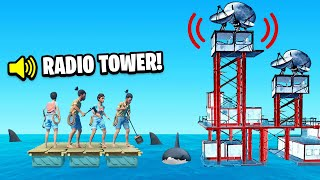 We FOUND a SECRET RADIO TOWER (RAFT)
