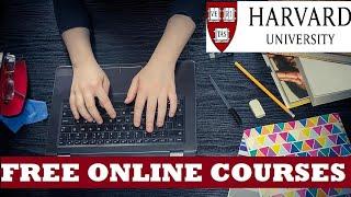 Free online courses : Harvard university