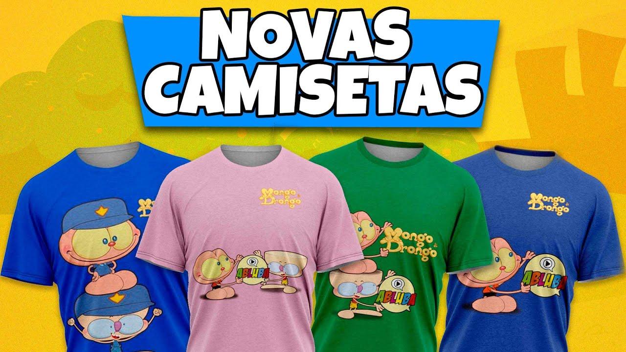 Camisetas do Mongo e Drongo - NOVAS CAMISETAS 👕