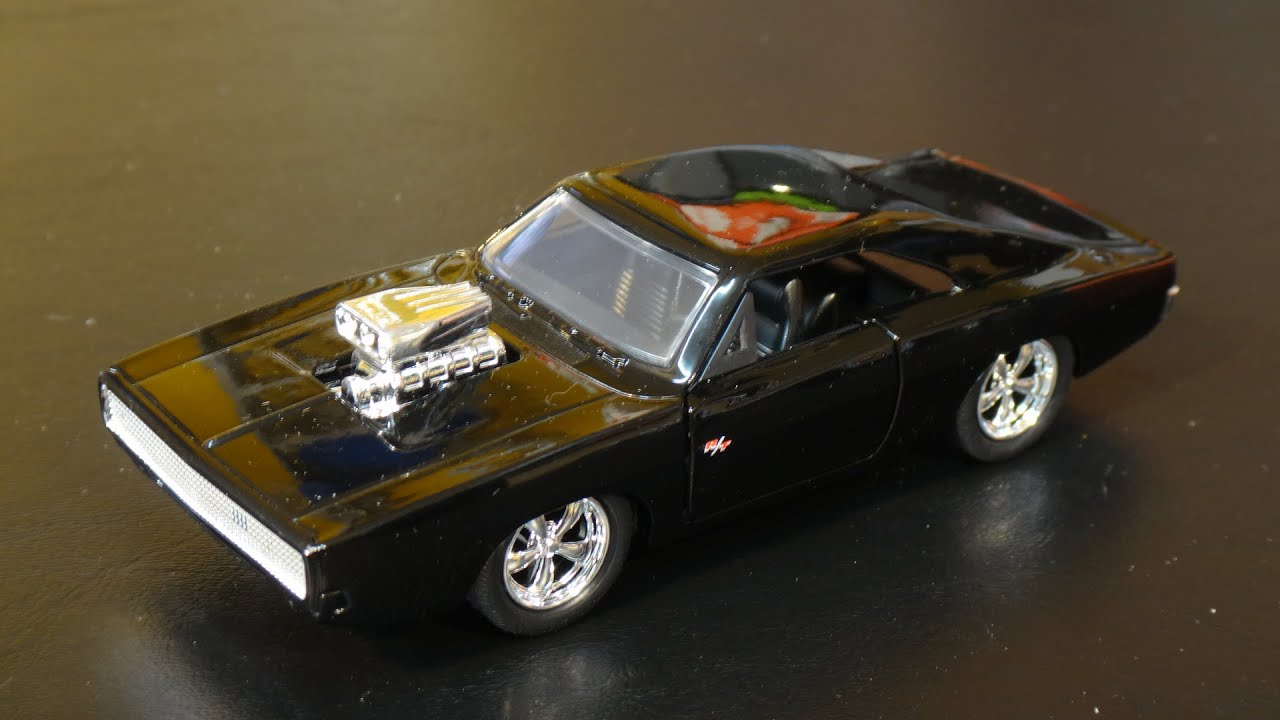 Fast and furious 7 dom s 70 dodge charger r t jada toys target exclusive youtube