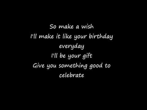 Katy Perry Birthday lyrics clean
