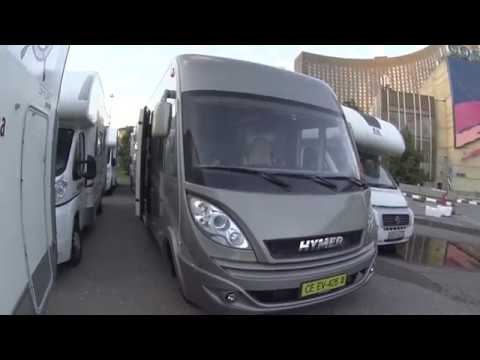 Дом на колесах 4x4 Hymer MLT на Mercedes-Benz Sprinter, обзор .