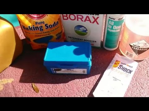 Pool Chemicals You Need To Close Your Pool Youtube