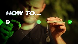 How To Tie Darrell Peck's Simple Wafter Rig!