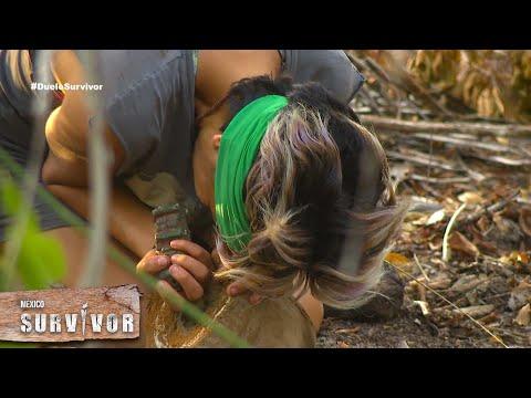 El tótem de inmunidad ha aparecido dentro de un coco. | Survivor México 2021