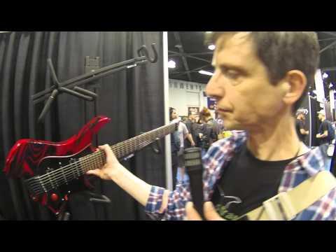NAMM 2016 - Strandberg Guitars' Per Nilsson Singularity | GEAR GODS