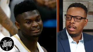 Zion will have to lose weight like I did to help with injuries - Paul Pierce | The Jump Video
