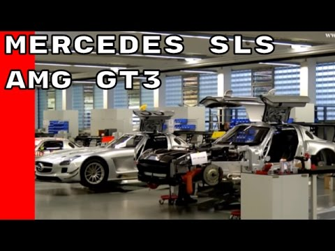 Mercedes SLS AMG GT3 Production and Driving Academy