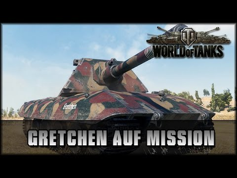 World of Tanks - Live: Gretchen auf Mission - E100 [ deutsch | gameplay ]