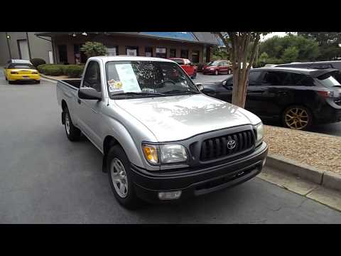 I Found A 2003 Toyota Tacoma Small Pickup Truck With Only 66,000 Miles Review And Test Drive