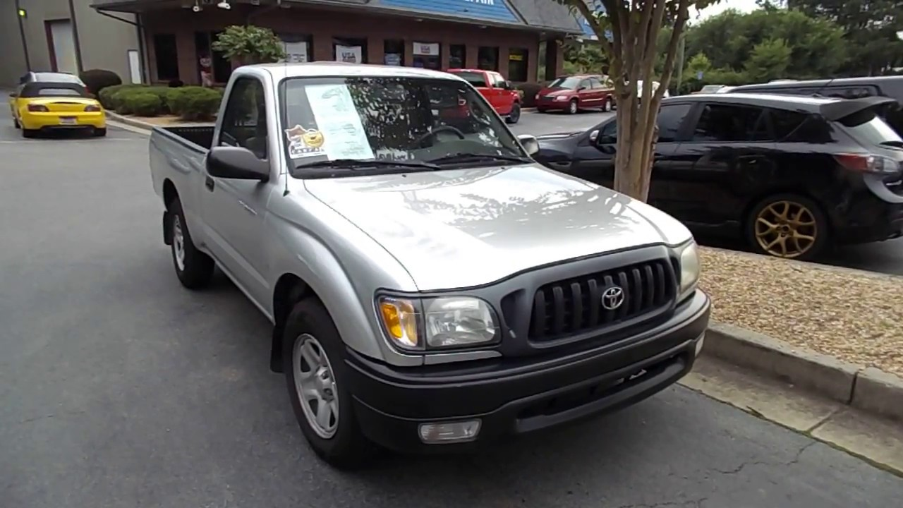 I Found A 2003 Toyota Tacoma Small Pickup Truck With Only 66 000 Miles Review And Test Drive