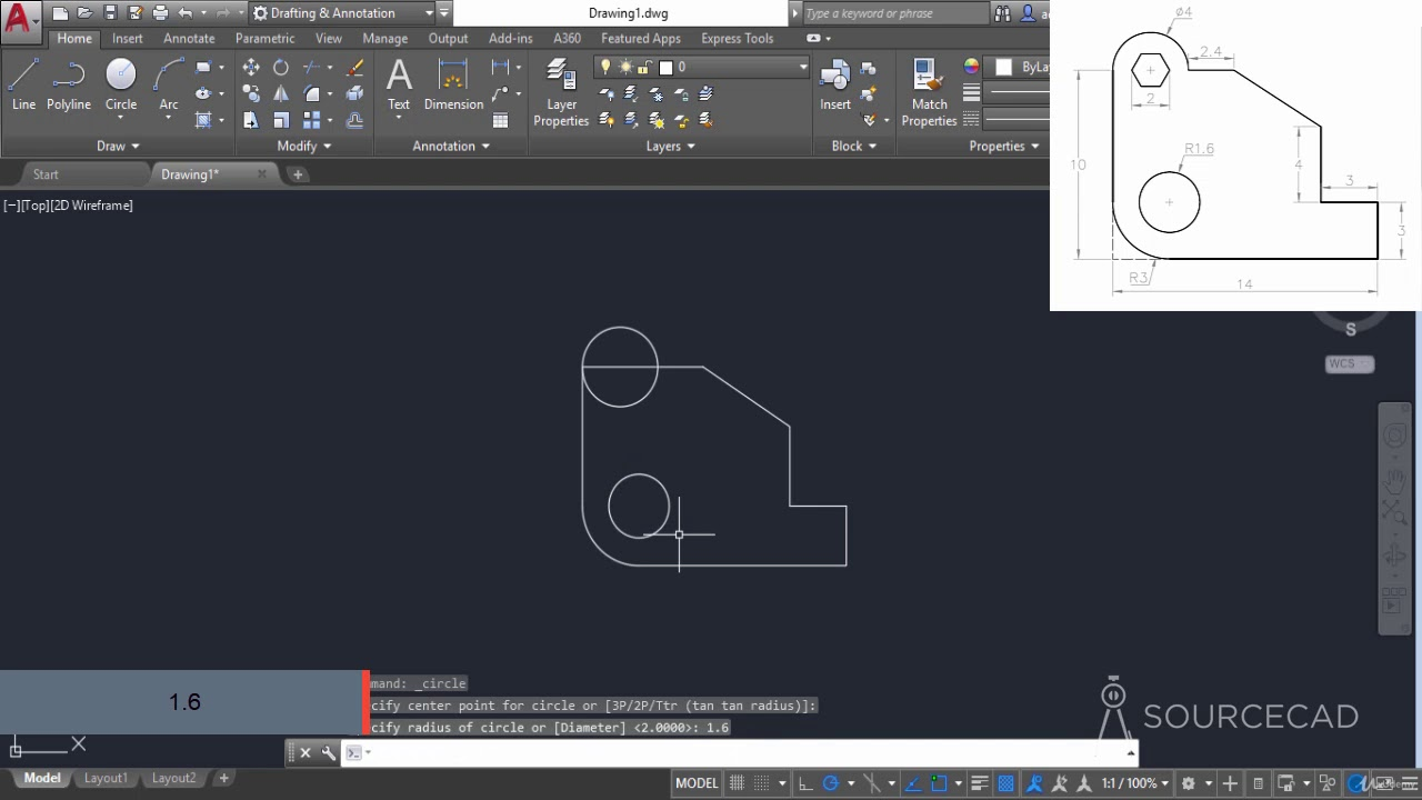 60 AutoCAD 2D /& 3D Practice drawings and projects
