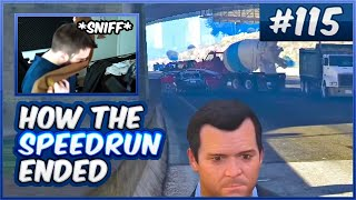 I Have Never Seen This Mission Fail Before - How The Speedrun Ended (GTA V) - #257