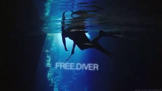 Dangerous free dive through hidden caves - ft Craig Parry [4K]