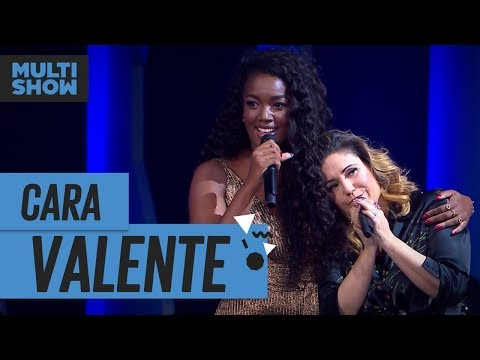 Cara Valente  Iza + Maria Rita  Música Boa Ao Vivo  Música Multishow