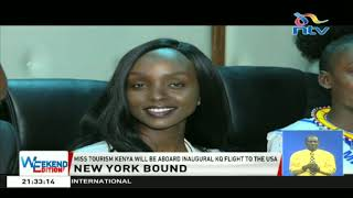 Miss Tourism Kenya will be aboard inaugural KQ flight to USA