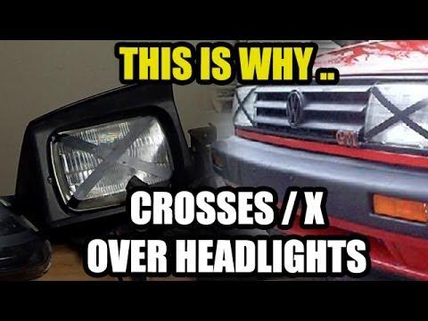 Crosses X Over Headlights Youtube