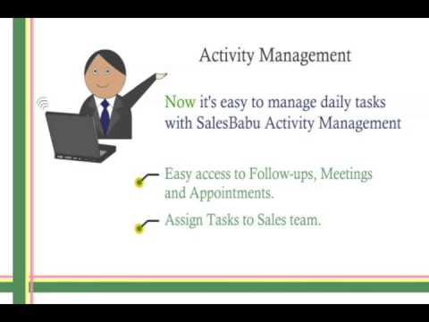 Activity Management Software: Manages daily tasks