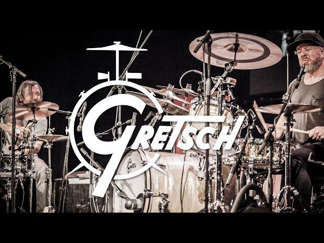 Karl Brazil & Ash Soan drum solo - Gretsch Drums Teaser