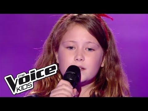 Je vais t'aimer - Michel Sardou | Eva | The Voice Kids France 2017 | Blind Audition