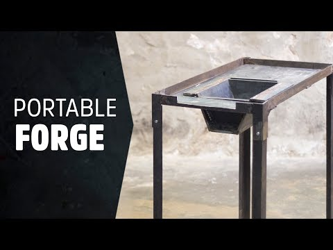 Building a Portable Forge: Blacksmith's Forge Design & Build - #HNB18