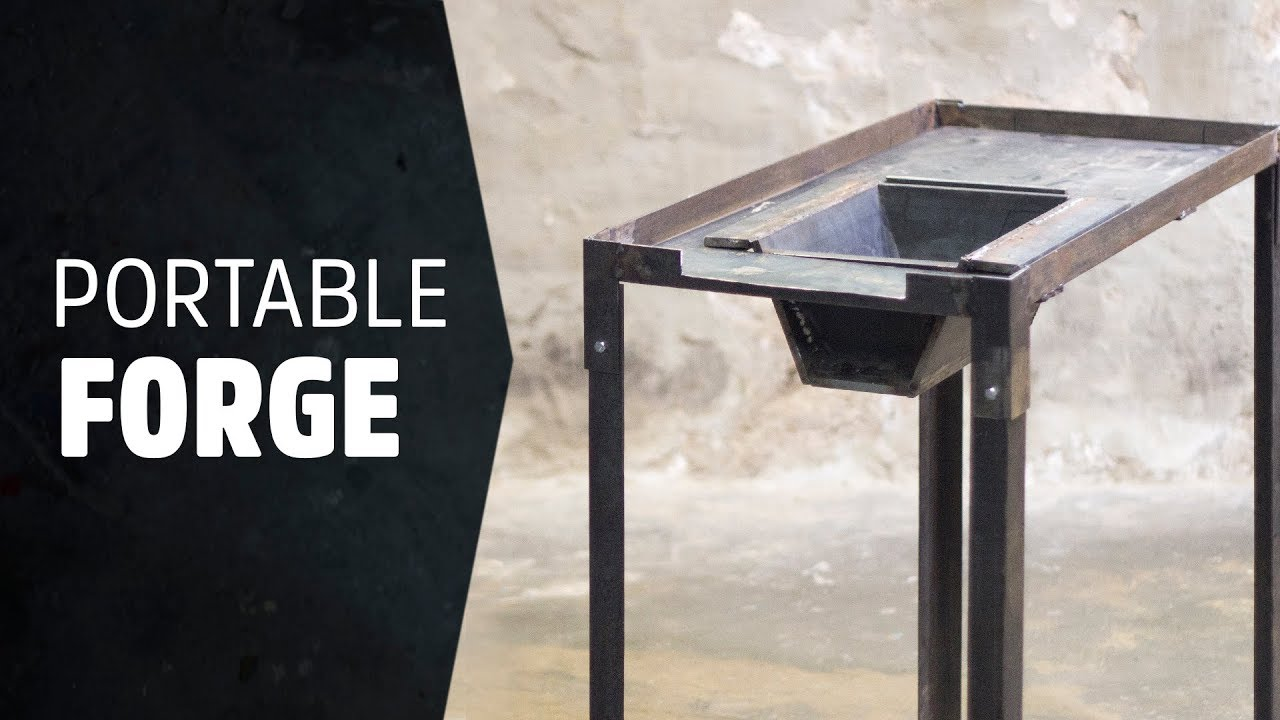 building a portable forge