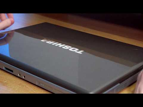 Toshiba E105-S1402 (Part 1) - YouTube